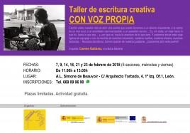 cartel_taller escritura creativa